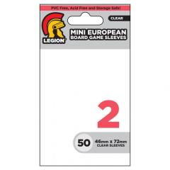Mini-European Board Game Card Sleeves (10 Packs of 50)