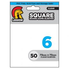 Square Board Game Card Sleeves (10 Packs of 50)