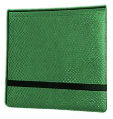 12-Pocket Binder - 3x4, Elder Dragon Hide - Green