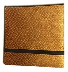12-Pocket Binder - 3x4, Elder Dragon Hide - Gold