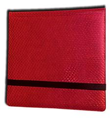 12-Pocket Binder - 3x4, Elder Dragon Hide - Red