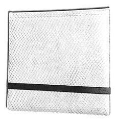 12-Pocket Binder - 3x4, Elder Dragon Hide - White