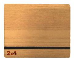 8-Pocket Binder - 2x4, Woodgrain