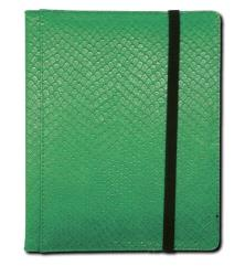 4-Pocket Binder - Elder Dragon Hide, Green