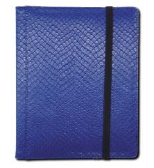 4-Pocket Binder - Elder Dragon Hide, Blue