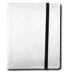 4-Pocket Binder - Elder Dragon Hide, White