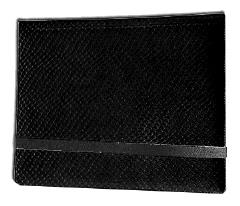8-Pocket Binder - 2x4, Elder Dragon Hide - Black