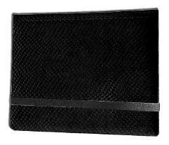 8-Pocket Binder - 2x4, Elder Dragon Hide - Black