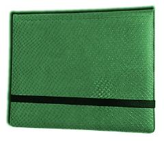 8-Pocket Binder - 2x4, Elder Dragon Hide - Green