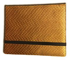 8-Pocket Binder - 2x4, Elder Dragon Hide - Gold
