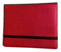 8-Pocket Binder - 2x4, Elder Dragon Hide - Red