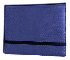 8-Pocket Binder - 2x4, Elder Dragon Hide - Blue