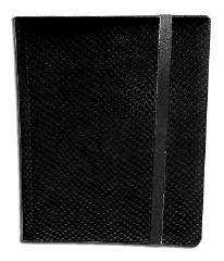 9-Pocket Binder - Elder Dragon Hide, Black