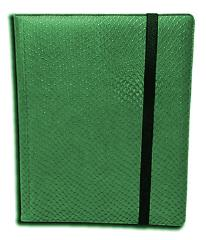 9-Pocket Binder - Elder Dragon Hide, Green