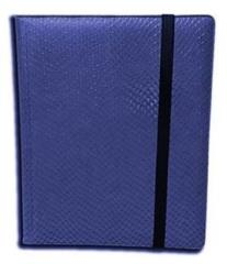 9-Pocket Binder - Elder Dragon Hide, Blue