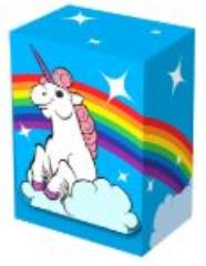 Deck Box - Rainbow Unicorn