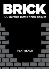 Standard CCG Size - Brick, Flat Black (100)