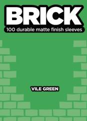 Standard CCG Size - Brick, Vile Green (100)
