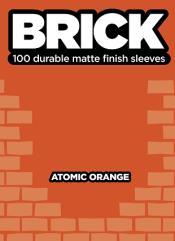 Standard CCG Size - Brick, Atomic Orange (100)