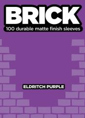 Standard CCG Size - Brick, Eldritch Purple (100)