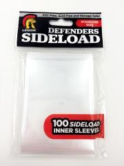 Standard CCG Size - Side Load, White (10 Packs of 100)