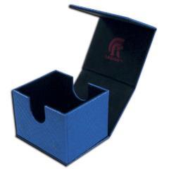 Dragonhide Hoard v2 Deck Box - Blue