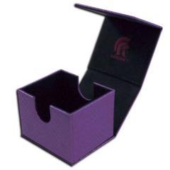 Dragonhide Hoard v2 Deck Box - Purple