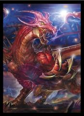 Standard CCG Size - Epic Card Game - Draka, Dragon Tyrant (10 Packs of 60)