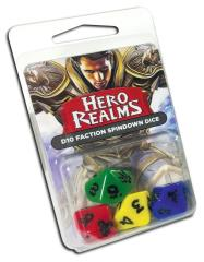 Hero Realms d10 Faction Spindown Dice (4)
