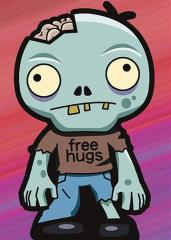 Double-Matte Finish - Zombie Hugs (10 Packs of 50)