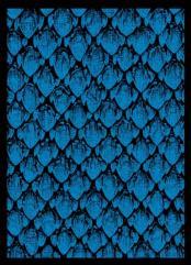 Double-Matte Finish - Dragonhide, Blue (50)