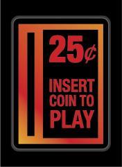 Double-Matte Finish - Insert Coin (50)