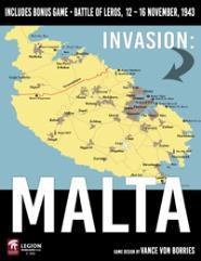 Invasion - Malta (w/bonus game Invasion: Leros - November, 1943)