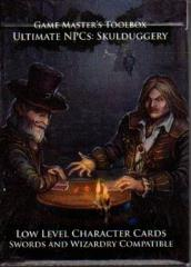 Ultimate NPC - Skulduggery - Low Level Character Cards (Swords & Wizardry)