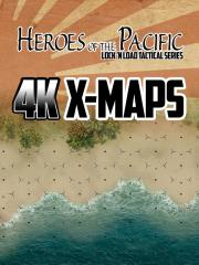 Heroes of the Pacific - 4K X-Maps