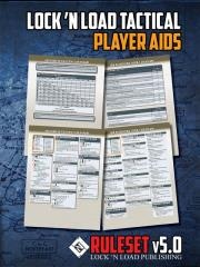 Lock N' Load Tactical Player Aid Cards 5.0