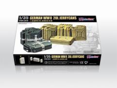 WWII German 20L Jerrycans