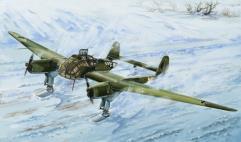 German Focke-Wulf Fw-189A-1 w/Sonderaktion Schneekufen