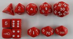 Lamentations of the Flame Princess - Dice Set (12)