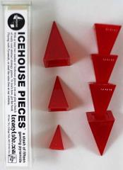 Icehouse Pieces - Red