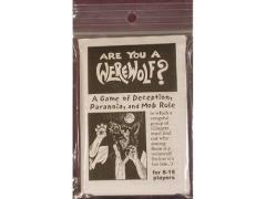 Are You a Werewolf? (1st Printing)