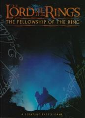 Fellowship of the Ring Boxed Game Rulebook (Blue Cover)