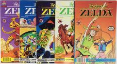 Legend of Zelda, The Complete Series #1-5