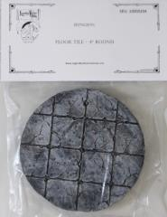 """Dungeon Floor Tile - Round, 4"""""""