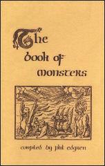 Book of Monsters, The (1st Printing)