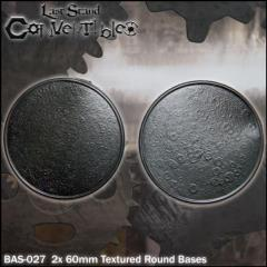 Round Bases - 60mm Textured (2)