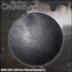 Round Bases - 120mm Textured (1)