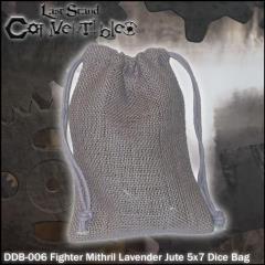 "Fighter Mithril Lavender Jute (5"" x 7"")"