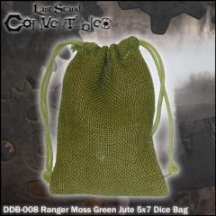 """Ranger Moss Green Jute (5"""" x 7"""")"""