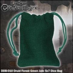 "Druid Forest Green Jute (5"" x 7"")"
